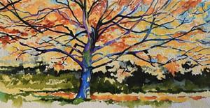 """""""Fall Tree"""" by Brenda Siemer - Uploaded by Marie Cole"""
