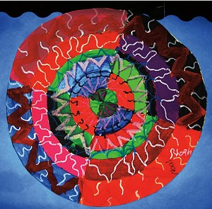 "COURTESY OF BRANDON ARTISTS GUILD - ""Mandala"" by Noah Buffam"