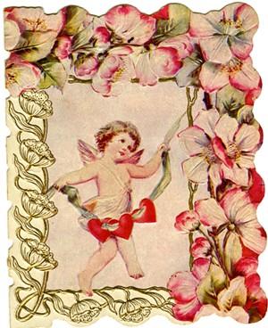 COURTESY OF HENRY SHELDON MUSEUM - Cupid Valentine