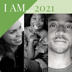 """COURTESY OF VAC - Jericho Parms, Kerubo Webster and Shani Stoddard, artists in the """"I AM' exhibit"""