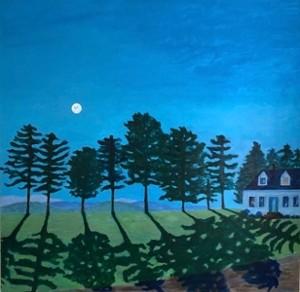 """COURTESY OF NEK ARTISANS GUILD - """"Full Moon"""" by Alice Kitchel"""