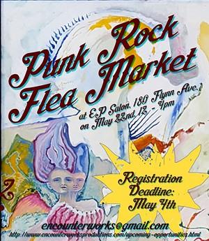 COURTESY OF ENCOUNTERWORKS PRODUCTIONS SALON - Punk Rock Flea Market poster