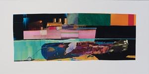 COURTESY OF VERMONT SUPREME COURT GALLERY - Collage by Arthur Schaller