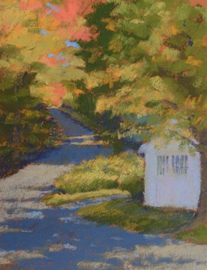 "COURTESY OF EMILE A. GRUPPE GALLERY - ""Into the Shade"" by Marla McQuiston"
