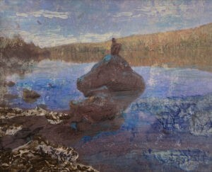 "COURTESY OF AVA GALLERY - ""Reflection"" by Stephanie Gordon"