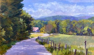 COURTESY OF EMILE GRUPPE GALLERY - Painting by Elizabeth Allen