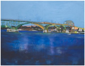 """""""peace bridge"""" by Melora Griffis - Uploaded by 571Projects"""
