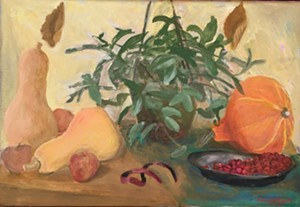 """""""Still Life With a Wax Plant"""" by Marjorie Kramer - Uploaded by glenhutcheson"""