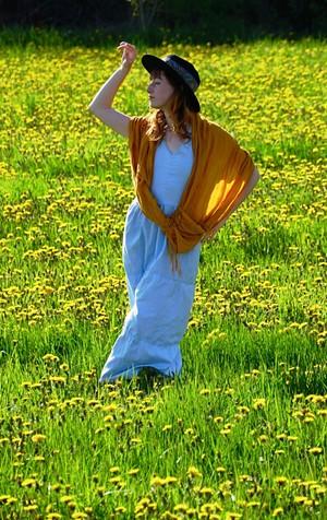 "COURTESY OF THE ARTIST - ""Lulu, Queen of the Dandelions"" by Michael Jermyn"