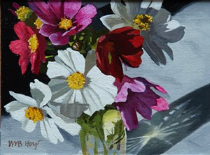 """COURTESY OF EDGEWATER GALLERY - """"Study for Cosmos"""" by William Hoyt"""