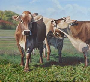 COURTESY OF SHELBURNE POND STUDIOS - Painting by Stephanie Bush