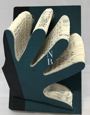 COURTESY OF NEK ARTISANS GUILD - Book art by Dorsey Hogg