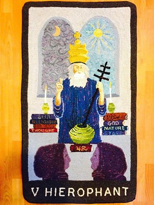 "COURTESY OF T.W. WOOD GALLERY - ""Hierophant"" by Stephanie Allen-Krauss"