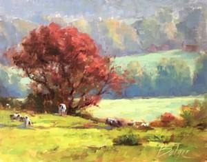 """COURTESY OF EDGEWATER GALLERY - """"Fall Harmony"""" by Joe Bolger"""