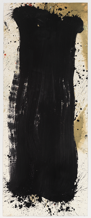 COURTESY OF HELEN DAY ART CENTER - Painting by Pat Steir