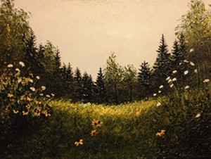 COURTESY OF NORTHEAST KINGDOM ARTISANS GUILD - Landscape painting by Kari Meyer