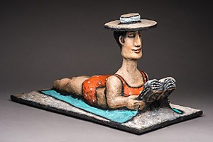 COURTESY OF BRANDON ARTISTS GUILD - Sculpture by Robin Kent