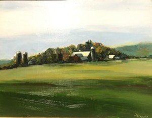 """COURTESY OF SEABA - """"Farm in Vermont Summer"""" by Lisa Myers"""