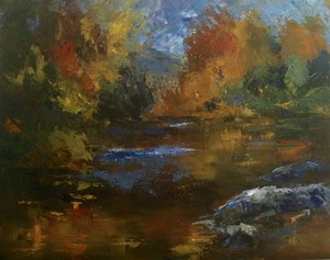 "COURTESY OF NVAA - ""River of Colors"" by Janet Bonneau"