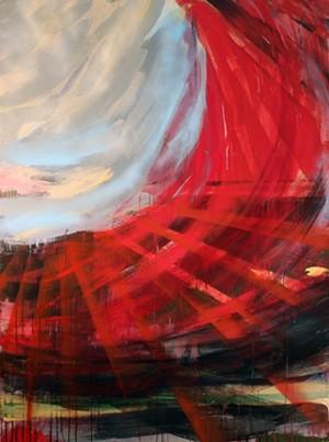 "COURTESY OF KELLY BRANNON BRANTZI - ""It's a Crying Shame,"" painting by Kelly Brannon Brantzi"