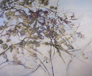 """COURTESY OF BRATTLEBORO MUSEUM & ART CENTER - """"Apple & Vine,"""" painting by Jamie Young"""