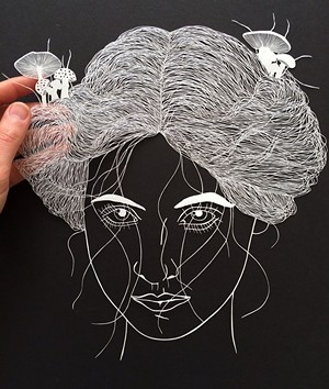 COURTESY OF WALKER CONTEMPORARY - Papercut by Maude White