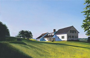 "COURTESY OF CASPIAN ARTS - ""Fernwood Farm"" by Louise Arnold"