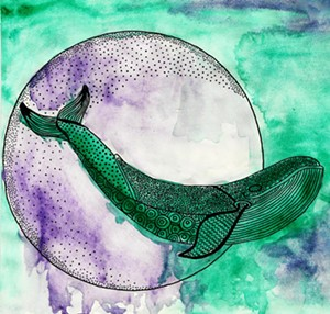 """COURTESY OF SEABA - """"Whale"""" by DeAnna Kerley"""