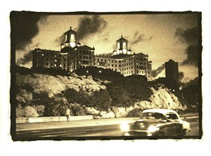 "COURTESY OF JORDAN DOUGLAS - ""Hotel Nacional at Night,"" photograph by Jordan Douglas"