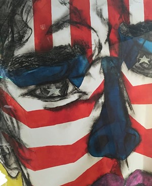 "COURTESY OF LAURA DI PIAZZA - ""America the Beautiful #5,"" 2006 print by Paedra Bramhall"