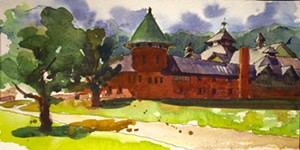 "COURTESY OF SEABA - ""Farm Barn"" by Judith Selin"