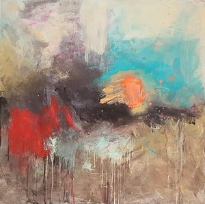 "COURTESY OF LONGINA SMOLINSKI - ""Autumn Walk"" by Longina Smolinski"