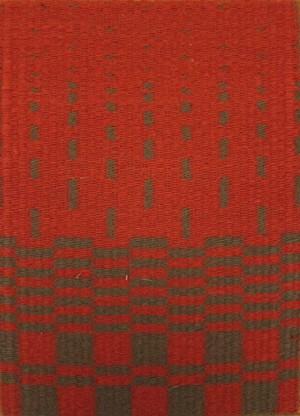 "COURTESY OF BIGTOWN GALLERY - ""Refuge 4,"" weaving by Bhakti Ziek"