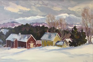 "COURTESY OF BRYAN MEMORIAL GALLERY - ""Danville Farm,"" painting by Eric Tobin"