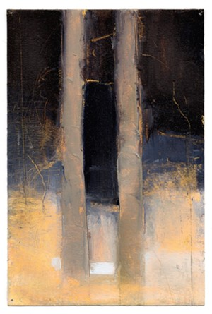 "COURTESY OF FURCHGOTT SOURDIFFE GALLERY - Paintings from the ""Woods Edge"" series by Joseph Salerno"