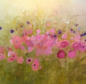 COURTESY OF GREEN MOUNTAIN FINE ART - Untitled painting by Bonnie Acker