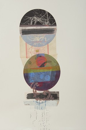 "COURTESY OF VERMONT ARTS COUNCIL - ""As Above, So Below"" by Erika Lawlor Schmidt"