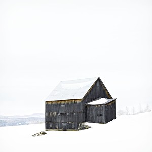 "COURTESY OF WEST BRANCH GALLERY & SCULPTURE PARK - ""Max Gray Barn"" by Jim Westphalen"