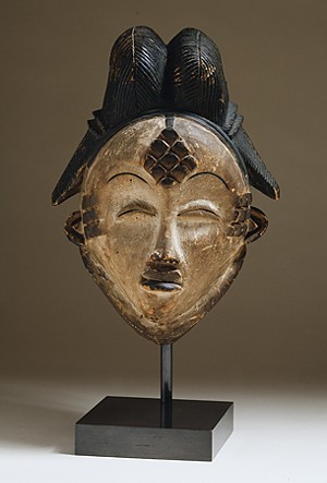 COURTESY OF HOOD MUSEUM OF ART - Unknown artist, Punu peoples, Gabon