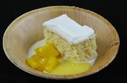 """Uno, Dos, Tres Leches Cake"" by John Belding of Birchgrove Baking in Montpelier - MATTHEW THORSEN"