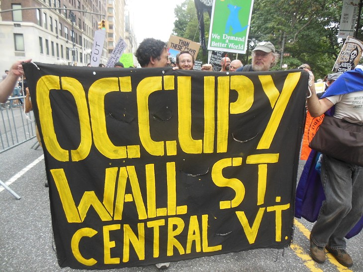 Scenes from the People's Climate March