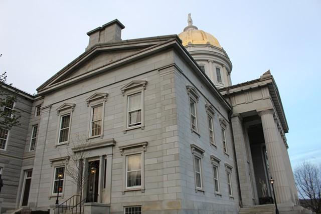 Vermont Statehouse - FILE: PAUL HEINTZ
