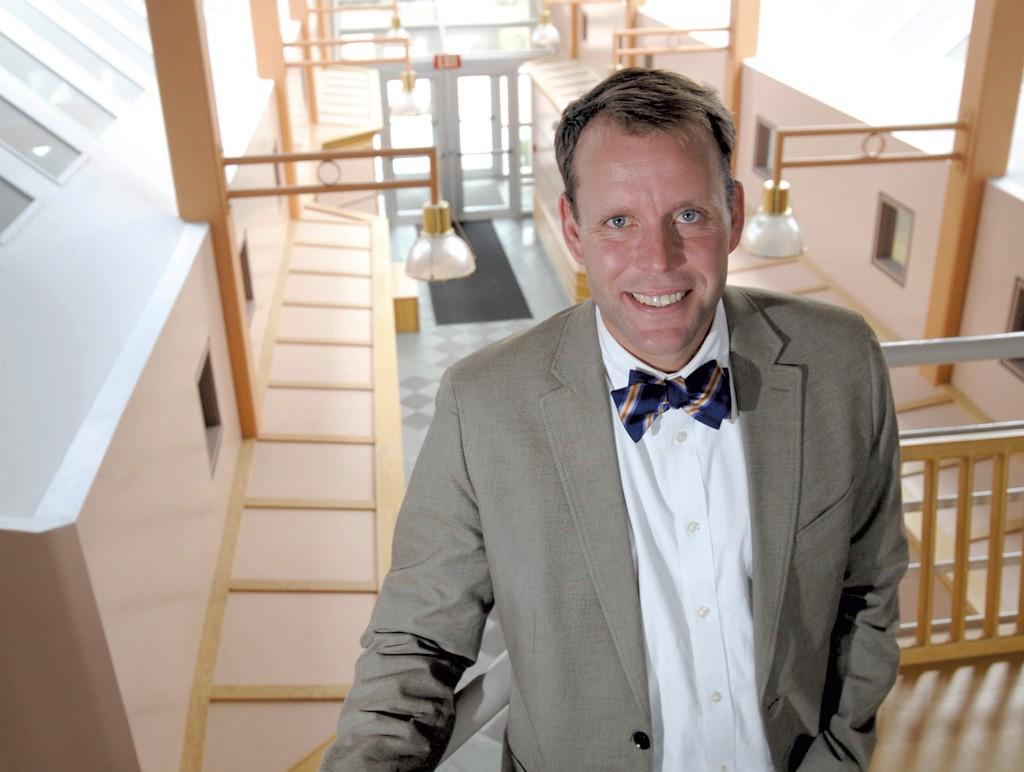 Vermont Tech interim president Dan Smith - JEB WALLACE-BRODEUR