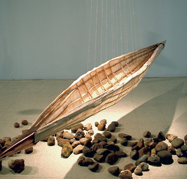 """Vessel"" by Kathryn Lipke - COURTESY OF SHELBURNE FARMS"