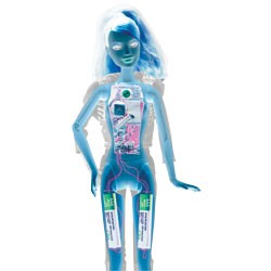 Video Girl Barbie, x-rayed