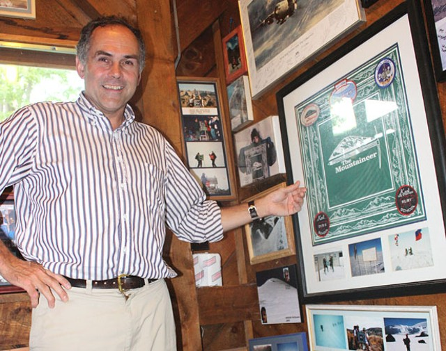 Vinny McClelland is general manager of The Mountaineer in Keene Valley, N.Y. - KEN PICARD