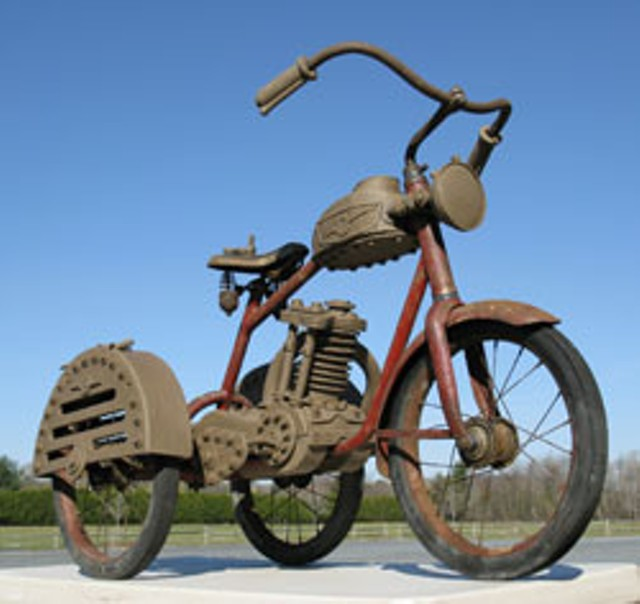 Vintage Tricycle by John Brickels