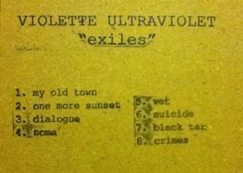 """Violette Ultraviolet, <i>""""exiles""""</i>"""