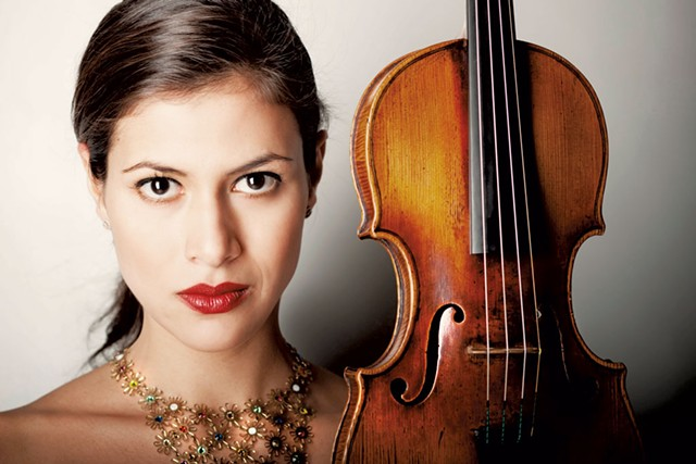 Violinist Elena Urioste - COURTESY OF VERMONT SYMPHONY ORCHESTRA