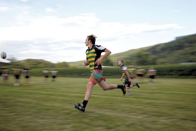VLS rugby practice - BEN DEFLORIO